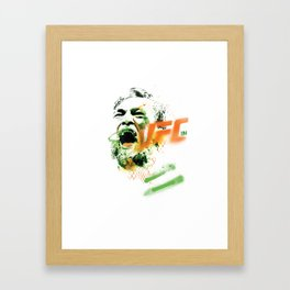 Conor McGregor UFC 194 collectable limited edition print Framed Art Print