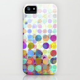 Colorful Dots No. 1 iPhone Case