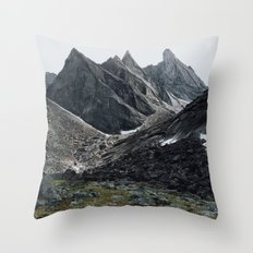 Arrigetch Throw Pillow