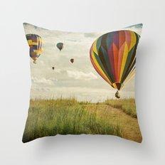 Launch Throw Pillow