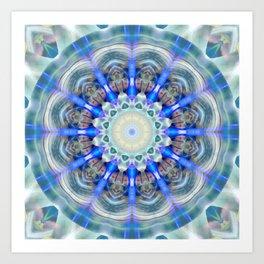 Mandala element air Art Print