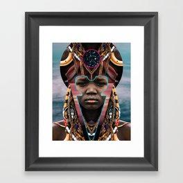 DIVINE OF FORM Framed Art Print