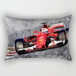 Sebastian Vettel Rectangular Pillow