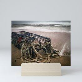 Lobster Cage Mini Art Print