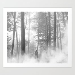 folklore (with fog) Art Print