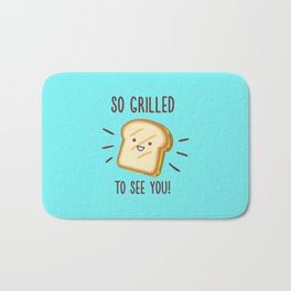 Cheesy Greetings! Bath Mat
