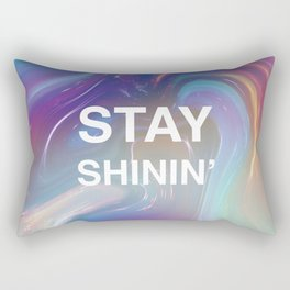 STAY SHININ' Rectangular Pillow