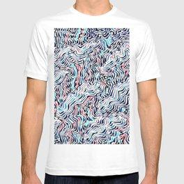 black topography T-shirt