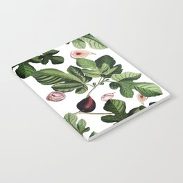Figs White Notebook