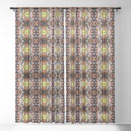 Accidental Eye Sheer Curtain