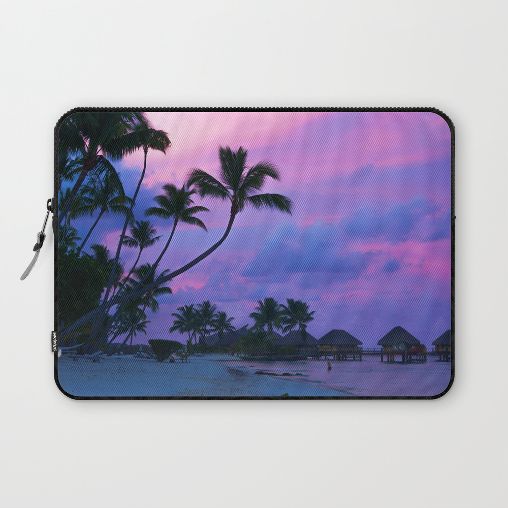 Tahitian Sunset Laptop Sleeve LSV8899712