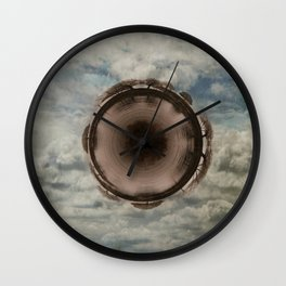 My little World of Solitude Wall Clock