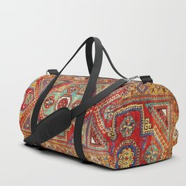 Incesu Turkish Village Antique Long Rug Print Duffle Bag