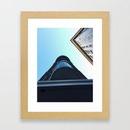 On perspective Framed Art Print