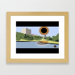 SC Eclipse 2017 Framed Art Print