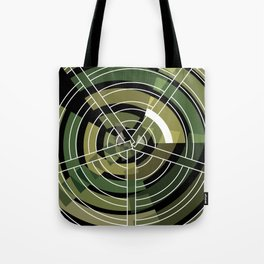 Exploded view camouflage Tote Bag