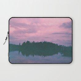 Rose island sunsets Laptop Sleeve