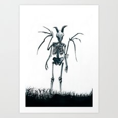 The Jersey Devil Is My Friend Art Print