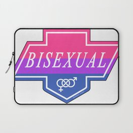 Identity Stamp: Bisexual Laptop Sleeve