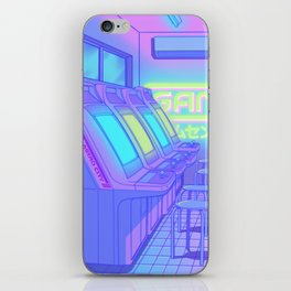 Midnight Arcade iPhone Skin