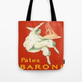Vintage poster - Pates Baroni Tote Bag