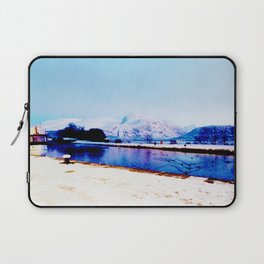 Corpach Sea loch, Highlands of Scotland Laptop Sleeve