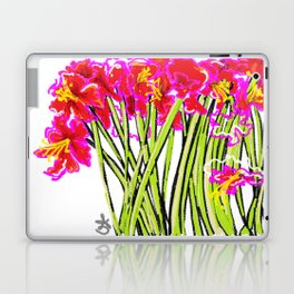 Red Flowers again, Hybiscus Laptop & iPad Skin