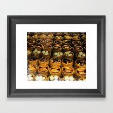 turkish sweets Framed Art Print