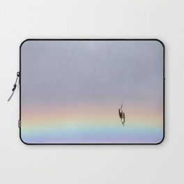 Rainbow Diving Blue-Footed Booby Laptop Sleeve