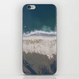 Aerial Beach Photograph: Masonboro Island | Wrightsville Beach NC iPhone Skin