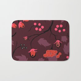 Pink Forest Bath Mat