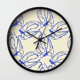 Seaweed Abstract Wall Clock