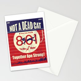 NOT A DEAD CAT-TO THE MOON Stationery Cards