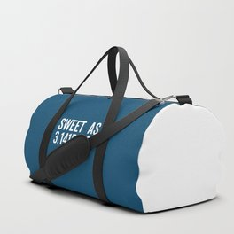 Sweet As Pi Funny Quote Duffle Bag