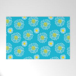 Daisies Galore Welcome Mat