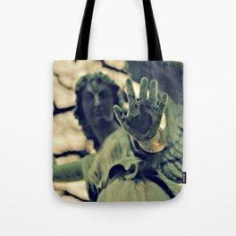 Angel Brush Knee and Palm Tote Bag