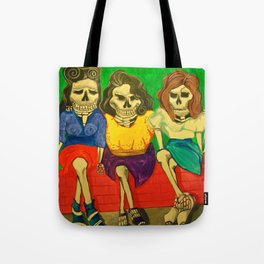 Las Comadres (The friends) Tote Bag