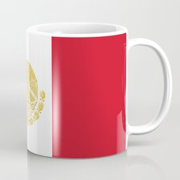 Mexican States Flag - Flag of Mexico Coffee Mug