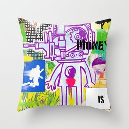 New Rules Throw Pillow