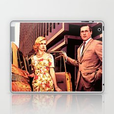 Betty & Don Draper from Mad Men - Painting Style Laptop & iPad Skin