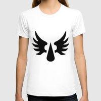 warhammer T-shirts featuring Warhammer 40k Blood Angels Minimalist Poster by Milos Cakovan