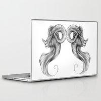 ram Laptop & iPad Skins featuring Ram by Judy Csotsits