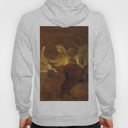 Rembrandt - The Conspiracy of the Batavians under Claudius Civilis (1662) Hoody