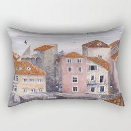 Dubrovnik #1 Rectangular Pillow