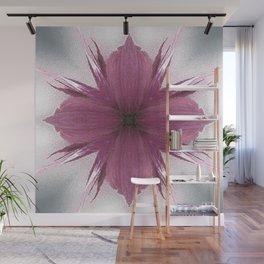 Pink Windflower 4 Flowers Floral Wall Mural