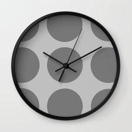 Polka Dots Wall Clock