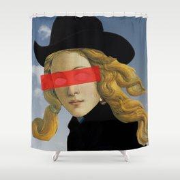 Das Mädchen mit dem Hut Shower Curtain
