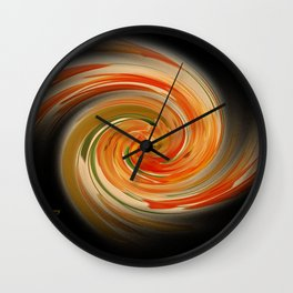 The whirl of life, W1.6B2 Wall Clock