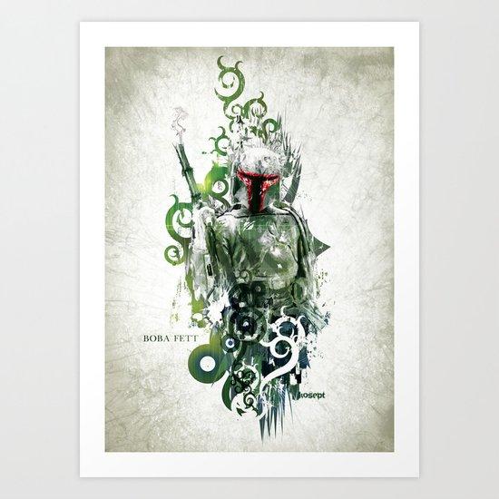 Star Wars _ Boba Fett Art Print