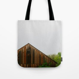 Cabin Season Tote Bag